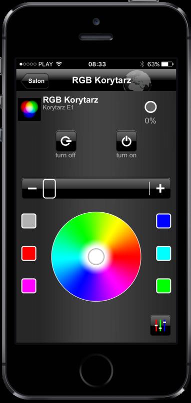 Obsługa LED RGB w systemie KNX